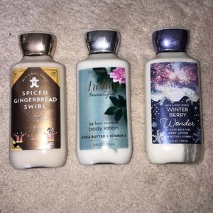 Bath & Body Works Makeup - FULL bath and body works lotions!!